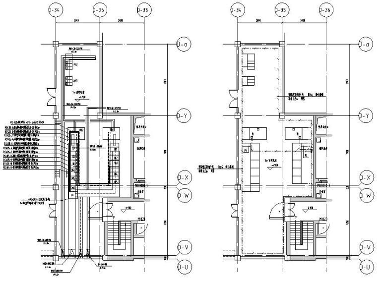 住宅楼项目开闭所施工图