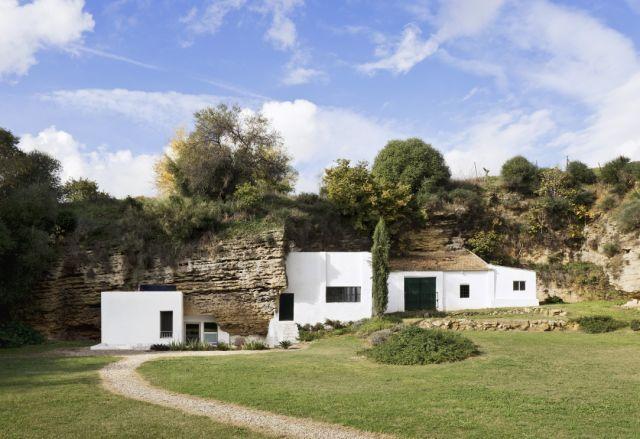 西班牙乡村窑洞