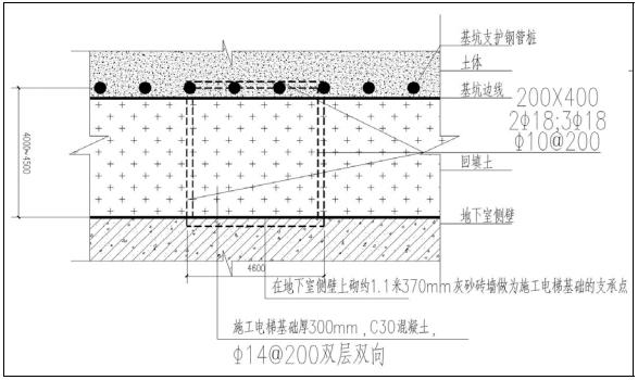 人货梯基础专项施工方案