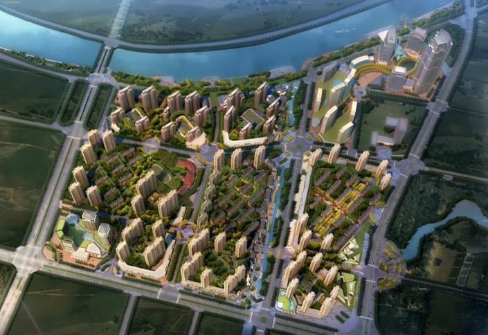 [江苏]无锡芦村浜景观河道规划设计(PPT+76页)