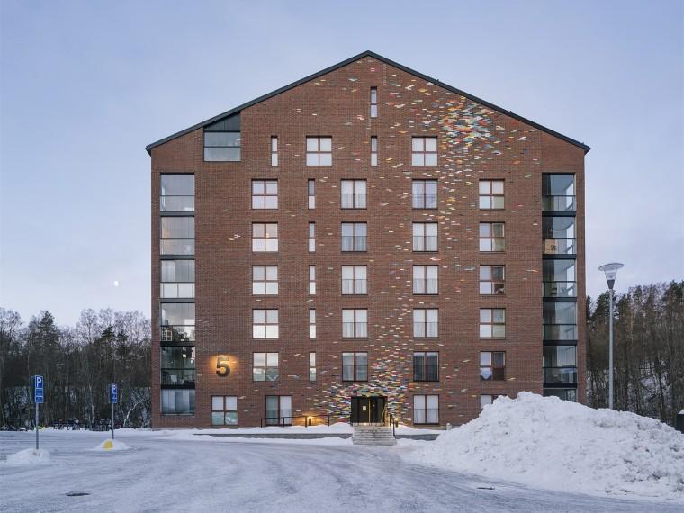 芬兰Albertinpiha公寓楼
