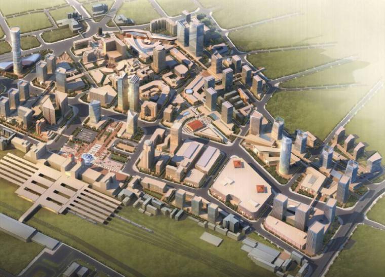 [河南]老城商业中心区控制性详细规划及城市设计方案文本