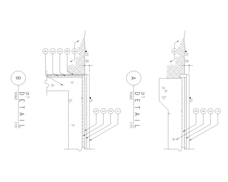 精选路缘侧石设计施工图(25套)-侧石003