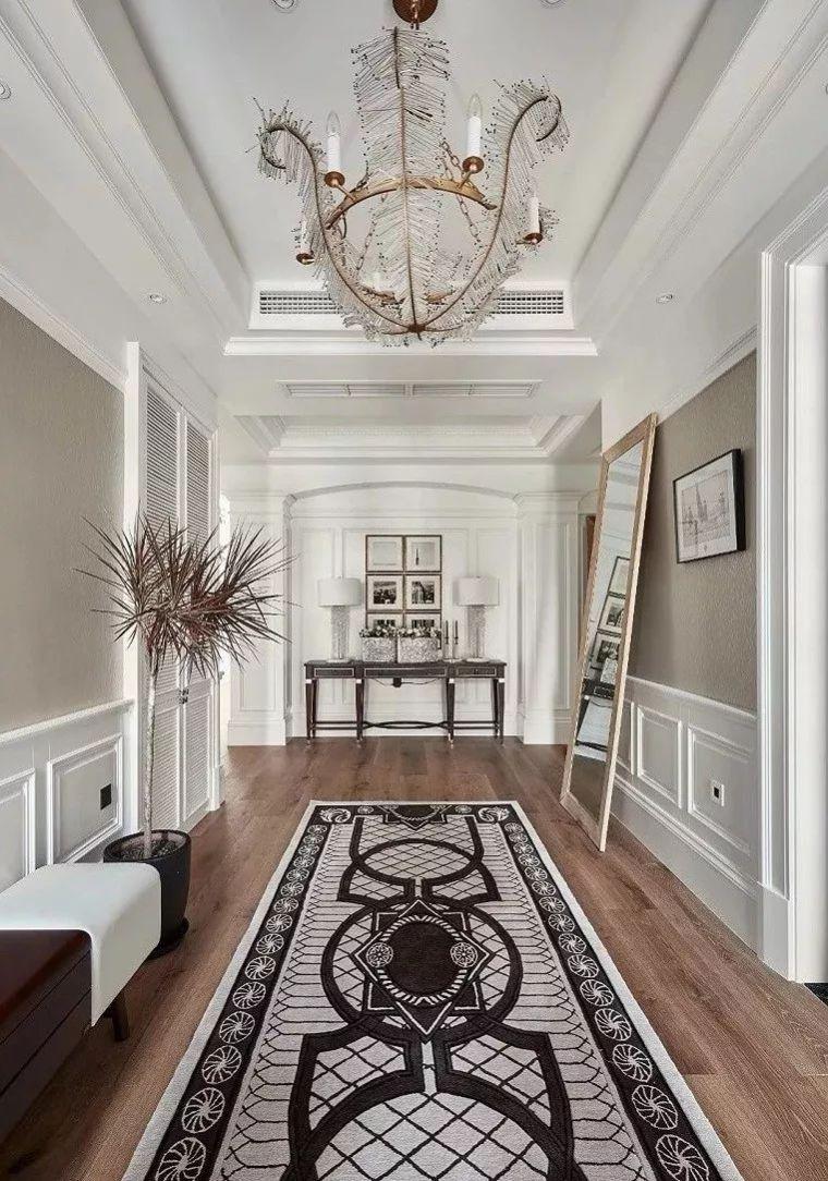 500平方米全屋软装定制别墅设计落地方案