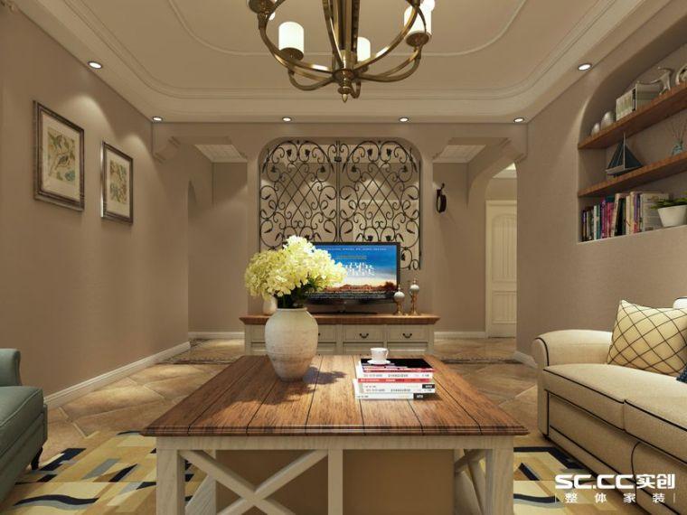 天伦锦城-140平三居-美式风格装修效果图-3.jpg