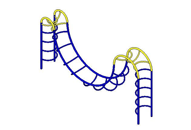 bim软件应用-族文件-过山攀梯