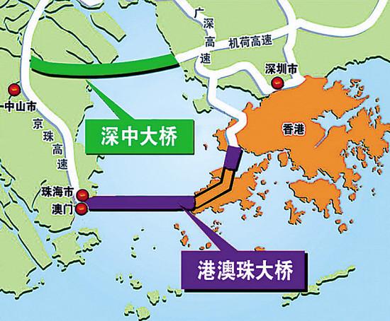 港珠澳PK深中通道——跨海通道哪家强?