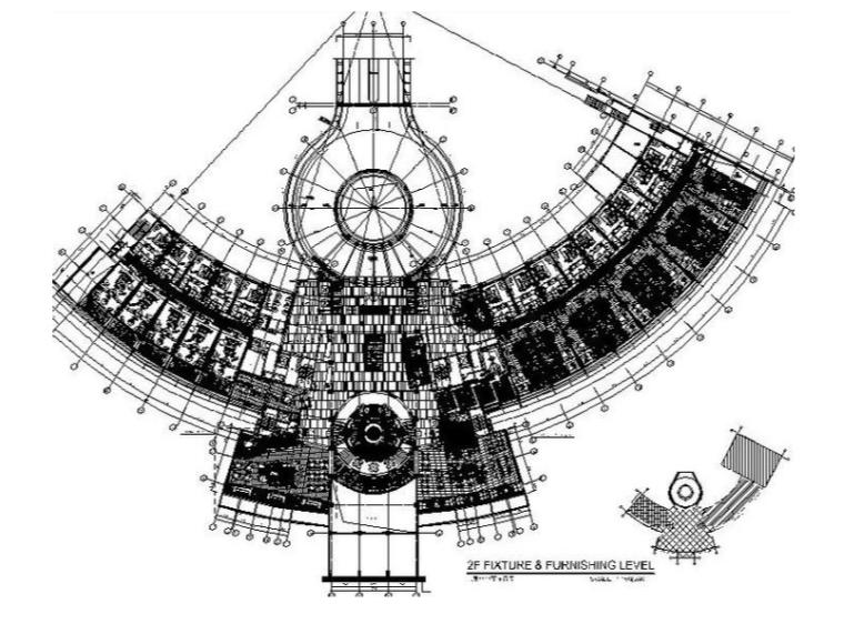 [三亚]豪华国际游艇酒店设计施工图(含效果图)