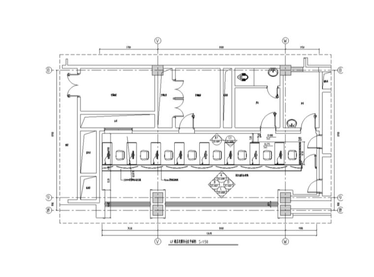 某甲级医院4F室内装修设计施工图(78张)