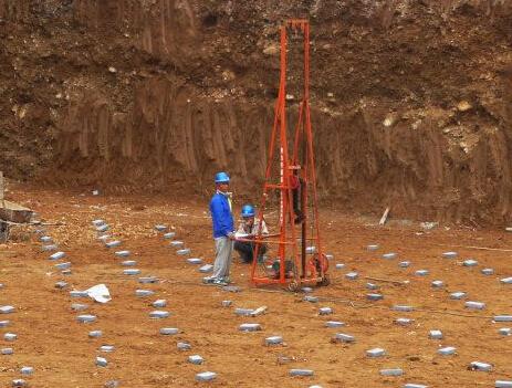 地基钎探施工工艺与步骤