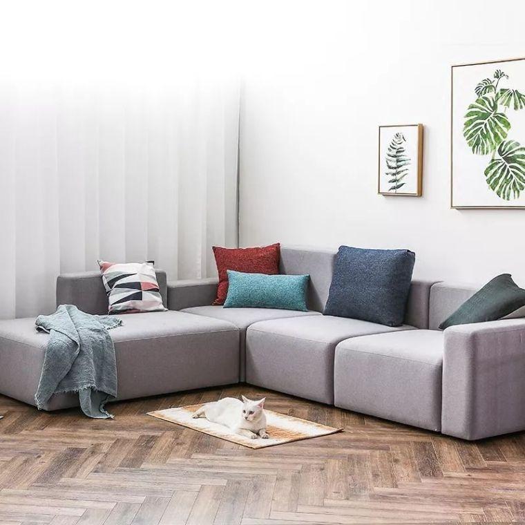 你不知道的客厅彩色沙发,给你不一样的格调。_12