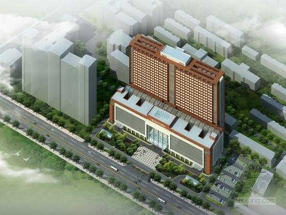 [内蒙古]22层医院门诊楼建筑设计方案文本