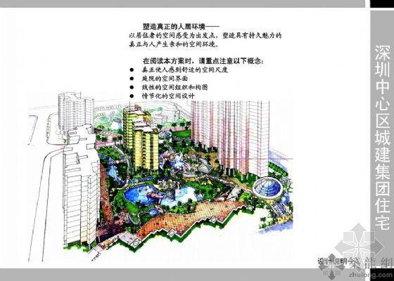 深圳中心区城建住宅设计文本