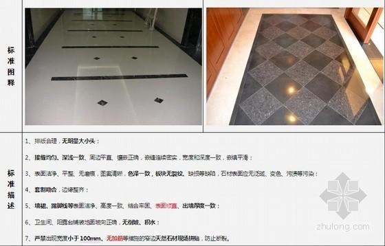 建筑工程精装修施工观感质量交付标准(附图丰富)