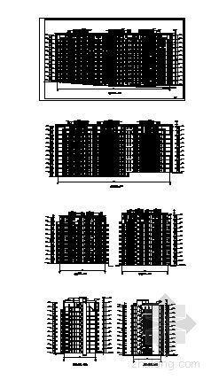 某十二层住宅楼(香榭里)建筑方案图-2