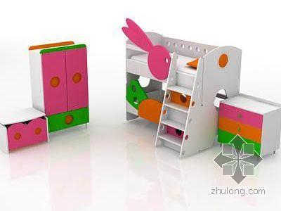 儿童床组合家具