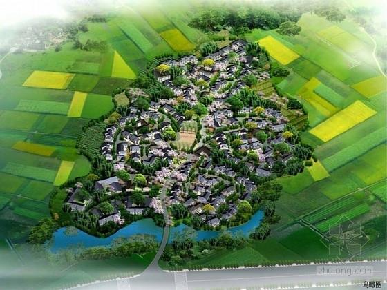 """[成都]""""花乡农居""""旅游观光乡村重建景观规划设计方案"""