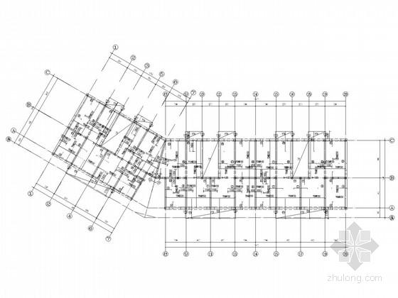六层带车库住宅底框结构施工图