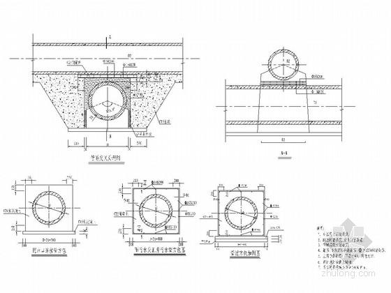 24m宽一块板形式城市道路排水工程施工图(26张)