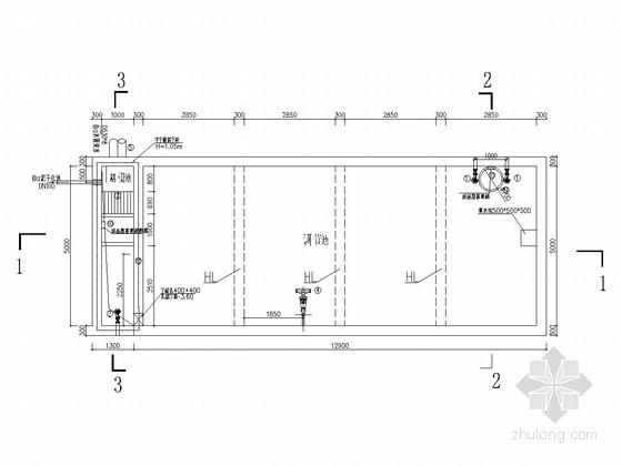 [四川]河道污水处理设施施工图