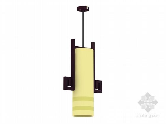 简单小巧吊灯3D模型下载