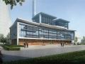 [广西]大型现代风格电厂配套建筑方案设计文本(多栋,多方案)