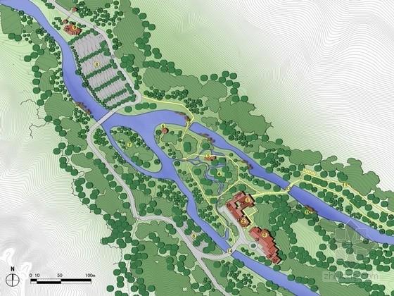 [安徽]著名生态风景区详细规划设计方案
