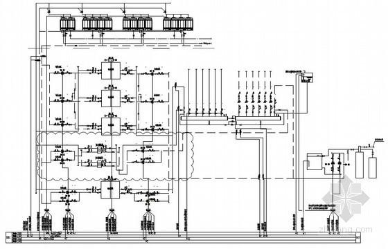 知名商业综合体楼宇自控系统全套流程标准(附系统原理图)