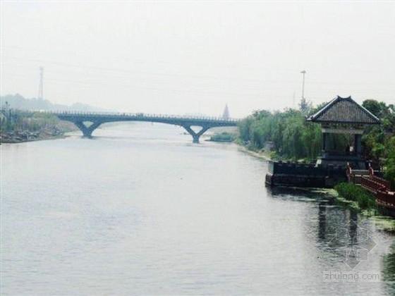 河道疏浚整治工程施工组织设计