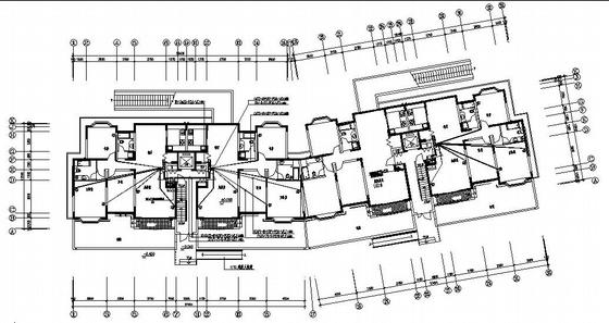 小高层住宅电气图纸