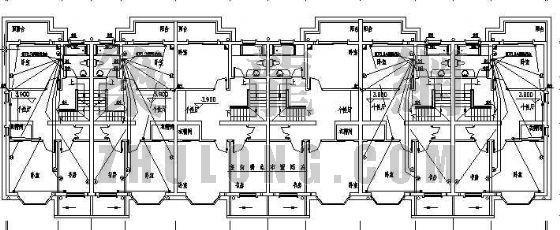 某低层住宅楼电气设计全套图纸