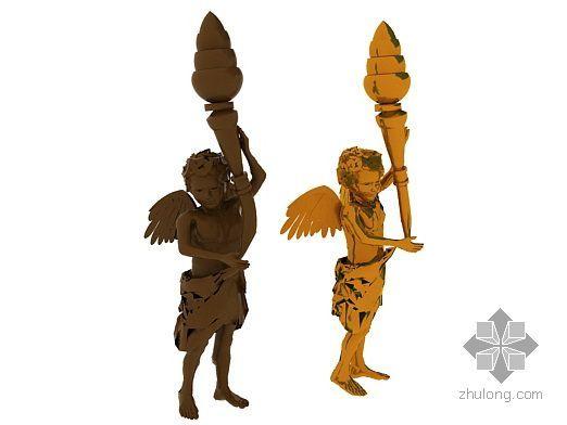 欧式雕塑小人