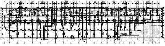 完整的人防结构图(基础、墙柱、口部大样)