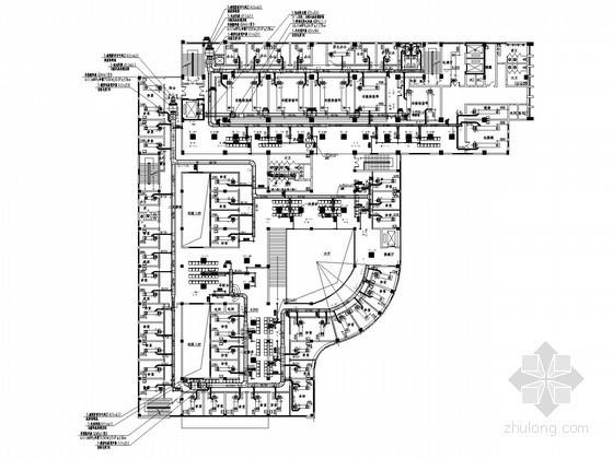 ICU通风设计资料下载-[江西]医院门诊楼空调及通风排烟系统设计施工图(冷热源系统多)