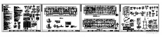 江西某五层砖混小康家园结构图