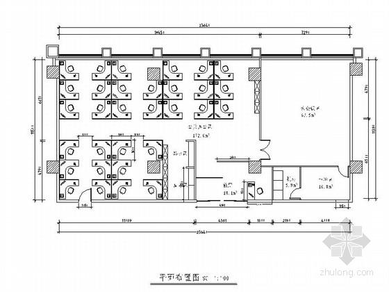 [北京]某发展基金室内装饰工程装修图
