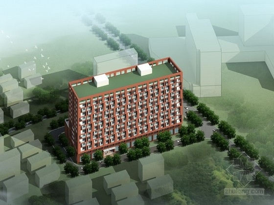 [贵州]某十三层养老院建筑设计方案文本