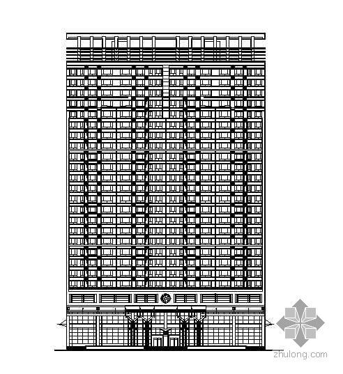 某高层住宅小区C、D两栋复式住宅楼建筑电路施工图