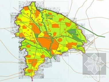 [天津市]某区城乡总体规划(2008-2020年)