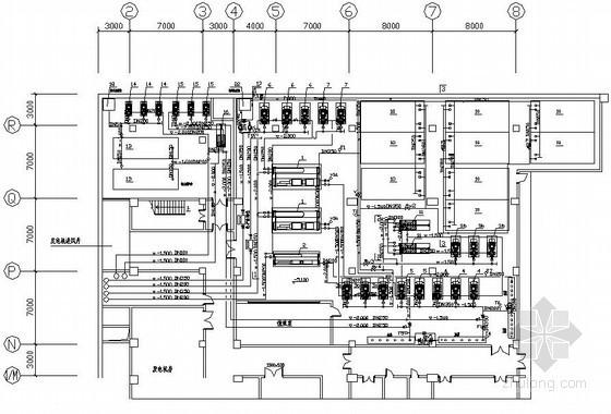 [武汉]某艺术中心冰蓄冷机房设计施工图