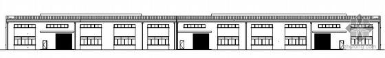 某彩钢屋面厂房建筑方案图