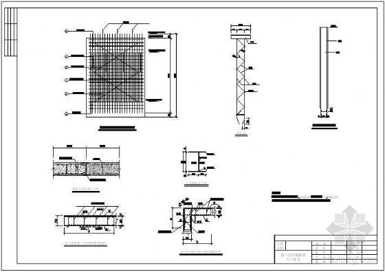 某钢厂冲渣校园地连墙深泵站v钢厂设计图基坑建筑设计装饰画图片