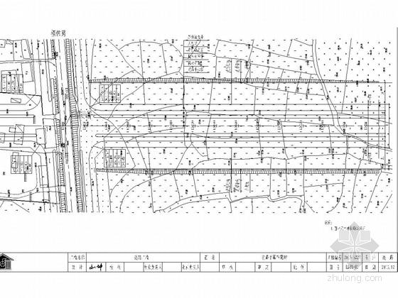 城市主干路道路工程施工图141张(含交通照明雨污水)