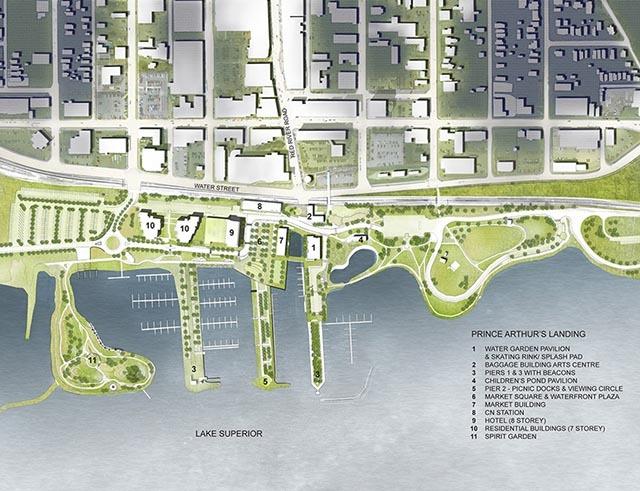 加拿大亚瑟王子码头公园景观设计_23