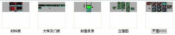 [北京]综合金融股份制商业银行支行精装修施工图资料图纸总缩略图