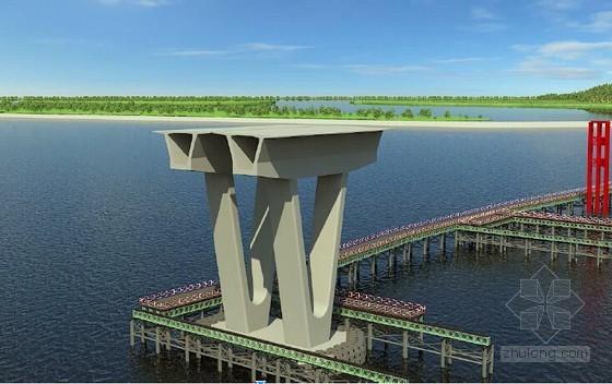 [浙江]跨海大桥9米高0#块施工技术方案及临时支架计算书72页(附22张图纸)