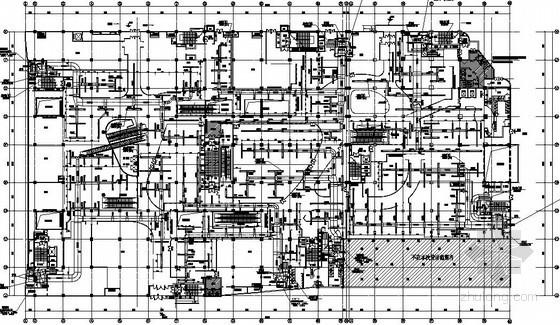[重庆]大型购物中心空调通风设计施工图