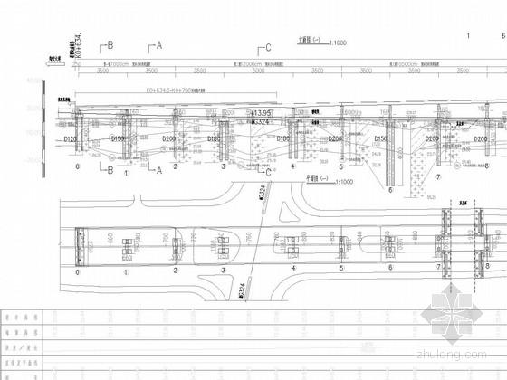 U型筋构造资料下载-[福建]27米宽单箱四室斜腹式预应力混凝土连续箱梁高架桥设计图217张