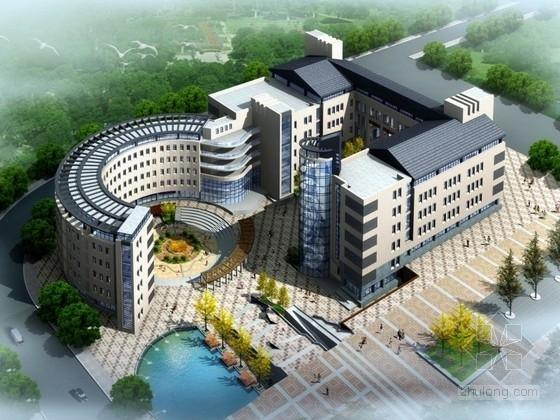 [山东]某高校五层教学楼建筑设计方案文本(含PPT)