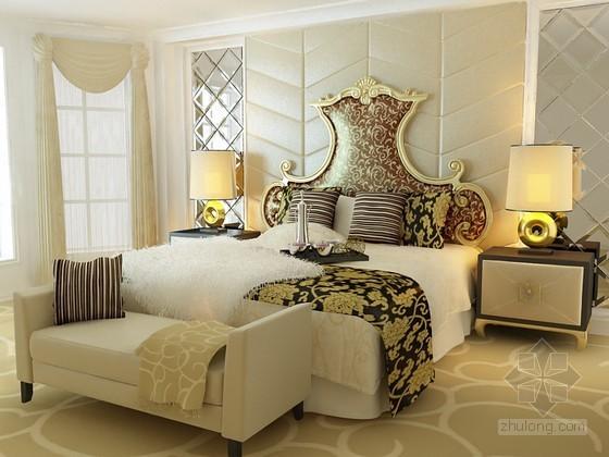 欧式贵族床组合家具